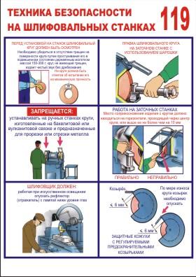Инструкция поохране труда при работе на заточном станке